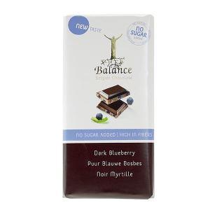 Balance Schokoladentafel Dark Blueberry ohne Zuckerzusatz 85 g. Schmeckt fantastisch schmecken und ist einen Genuss für die Sinne
