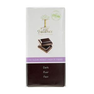 Balance Schokoladentafel Dark Zartbitter mit Stevia 85 g| von klassischen bis ungewöhnlichen Variationen sind die Schokoladentafeln für jeden ein Genuss