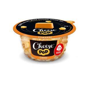 Cheesepop Cheddar Käsesnack 65 g kaufen | 0 g Kohlenhydrate | lecerk und würzig im Geschmack. Hauptzutat Käse - sonst nichts!