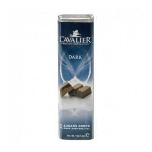 Cavalier Schokoriegel DARK Zartbitter 44 g. Herzhafter, zuckerarmer Schokoriegel. Köstlicher Schokoladengeschmack Zartbitter.