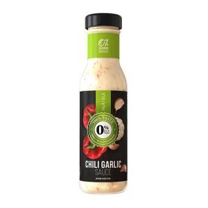 Nutriful Chili Garlic Sauce Dressing Glasflasche 250 ml. Köstliches Dressing mit 2 Kalorien pro Portion. Low Carb! Echter Geschmack.