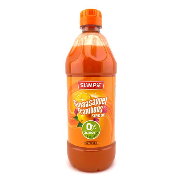 Slimpie zuckerfreier Limonaden Sirup Orange-Himbeer 580 ml kaufen. Slimpie Sirup kaufen für 7 Liter Limonade! Zuckerfreier Limonaden Sirup. Zuckerfrei!