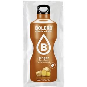 Bolero Instant Erfrischungsgetränkepulver 9 g Beutel GINGER Ingwer für 1,5 l fertiges Getränk! Bolero Instant Getränkepulver Beutel für fertiges Getränk.