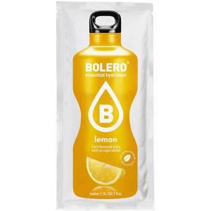 Bolero Instant Erfrischungsgetränkepulver 9 g Beutel LEMON Zitrone für 1,5 l fertiges Getränk! Bolero Instant Getränkepulver Beutel für fertiges Getränk.