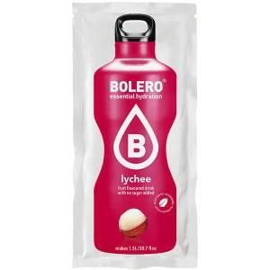 Bolero Instant Erfrischungsgetränkepulver 9 g Beutel LYCHEE Litschi für 1,5 l fertiges Getränk! Bolero Instant Getränkepulver Beutel für fertiges Getränk.