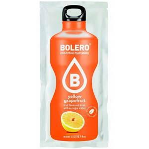 Bolero Instant Erfrischungsgetränkepulver 9 g Beutel YELLOW GRAPEFRUIT für 1,5 l Getränk! Bolero Instant Getränkepulver Beutel für fertiges Getränk.