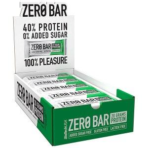 Biotech USA Zero Bar Schokolade-Haselnuss Proteinriegel 20 x 50 g