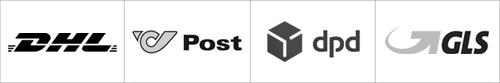 Post und GLS mobil Zucker-frei online Shop