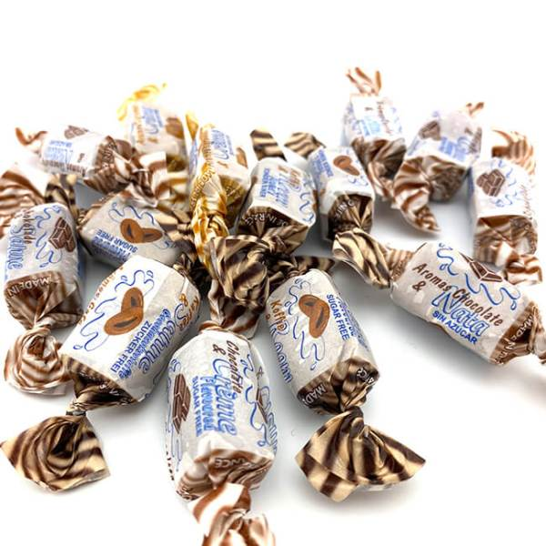 De Bron Caribbean Mix Sahne Toffees. De Bron zuckerfreie Karibische Sahne Toffees 90 g, Sahnebonbons kaufen, Sahne Bonbons kaufen im Shop. Online Sahne Bonbons kaufen