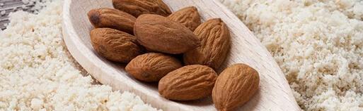 zuckerfreie Lebensmittel Mandelmehl online kaufen. Mandelmehl bestellen im zuckerfrei Online Shop