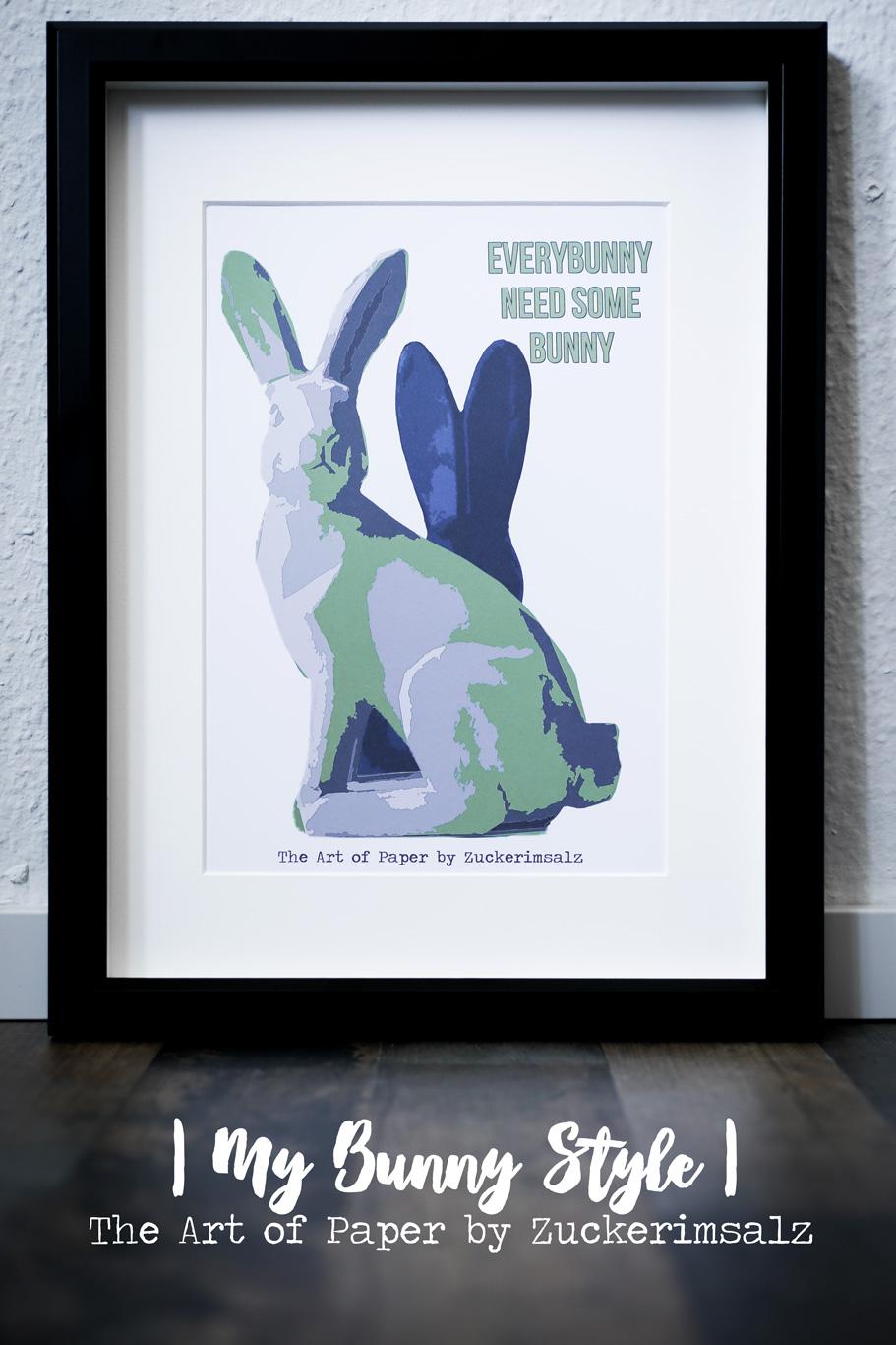 Das Poster – Der Foodplaner … My Bunny Style … das Freebie