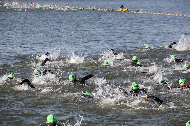 Schwimmen mit Diabetes IRONMAN Schwimmstart