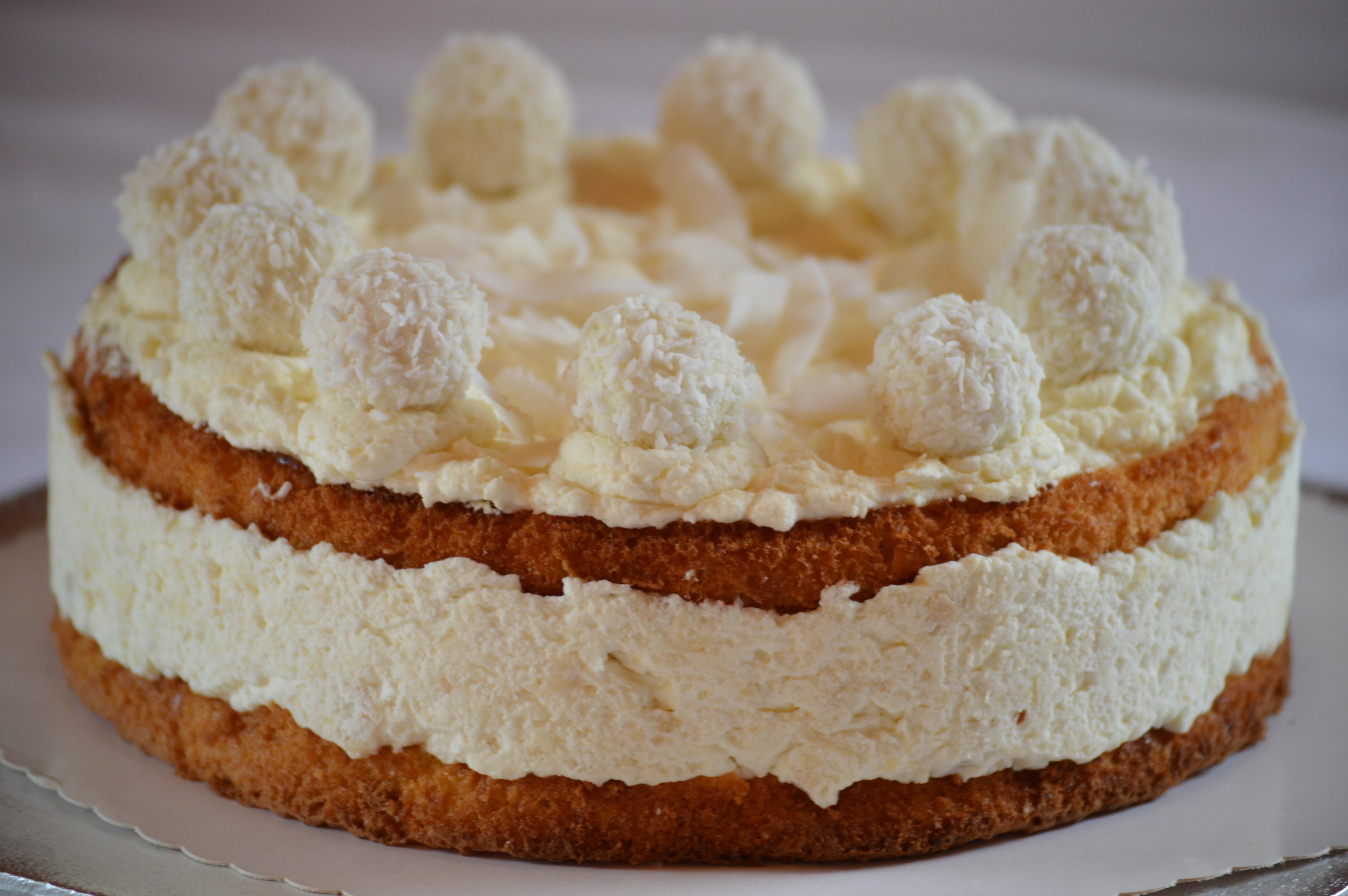 Raffaello Kuchen Rezept Einfach Raffaellos Selbermachen