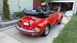 Murbella - 1979 VW Super Beetle Cabriolet