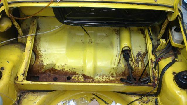1974 Super Beetle 1303 cancer