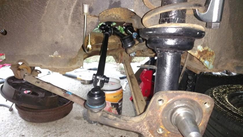 Żuczek B. (72 1302) new tie rods and steering damper
