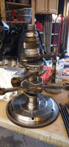 AE Engine - The crankshaft