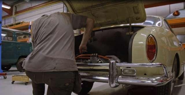 Vintage Voltage - Installing the electric motor.
