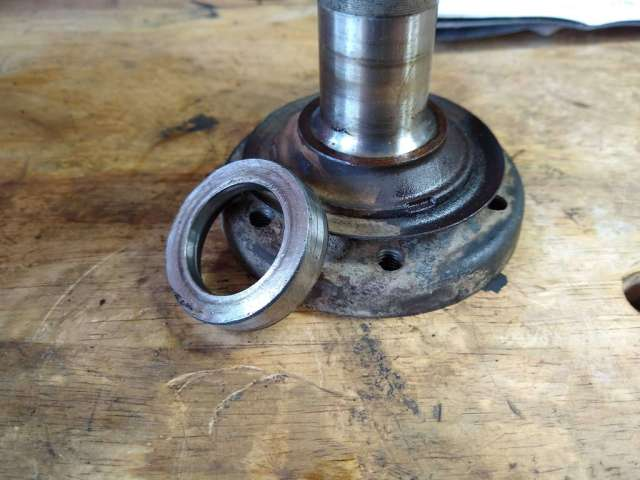 1979 VW Beetle - Passenger Side Stub Axle free of spacer