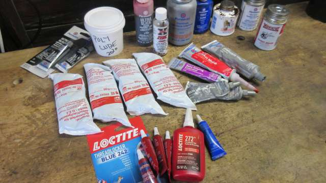 My sealants and lubricants