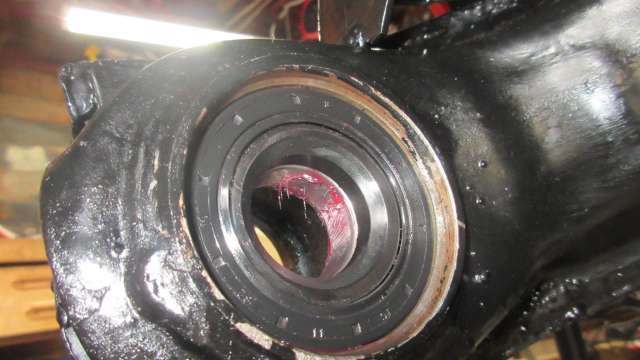 1979 VW Beetle - Inner Bearing Grease Seal Installed