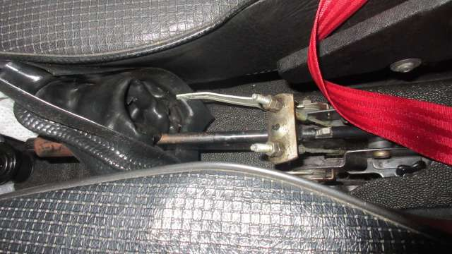 1979 VW Beetle - Parking Brake Connections