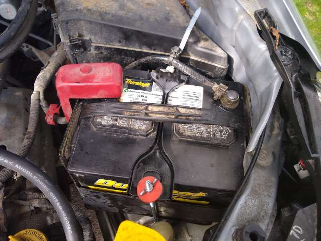 2013 Subaru Forester - Battery cleaned up