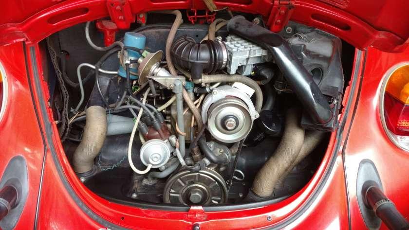 1979 VW Super Beetle FI Engine
