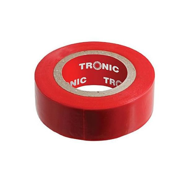 1 18 1 - Insulating Tape Red 20yards Tronic IT 01RD-20