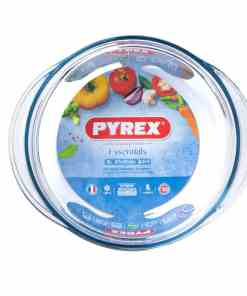 208A essentials top packed BD - PYREX CASSEROLE CLASSIC ROUND 2.3L 208A000/6243 - 3pcs