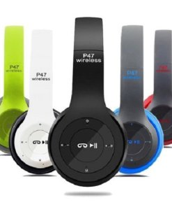 47 - P47 Wireless Bluetooth Foldable Headset With Microphone