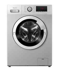 Hisense Washing Machine WHFV8012S Silver 8KG FL 1000x1000 1 - HISENSE WASHING MACHINE 8KG FL SILVER WFHV8012S