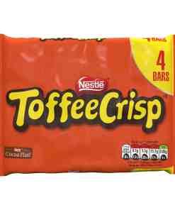 Nestle 4pk Toffee Crisp 69392 - Nestle Toffee Crisp Milk Chocolate Bar 4 Pack