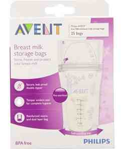 breastmilk1 - AVENT BREAST MILK STORAGE BAGS180ML/60Z-25'S