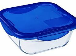 download 17 1 - PYREX COOK & GO SQUARE DISH WITH LID 21CM 286PG00/7046