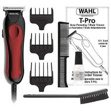 download 39 - Wahl T-Pro Mini Corded Hair And Beard Trimmer - 9307-327
