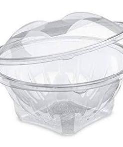 images.jpeg 28 400x - Round Clear Salad Bowl Flower Design (8 oz)
