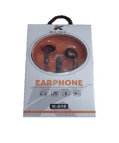 k 018 - Ka-yel Smart stereo Earphone K-018