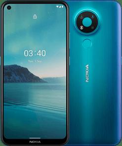 nokia 3 4 front back Fjord - Nokia 3.4