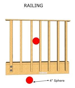 child-safety-railing Guardrail