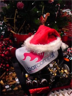 So könnte sie sich glatt beim Weihnachtsmann bewerben