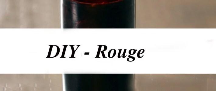 DIY – Rouge