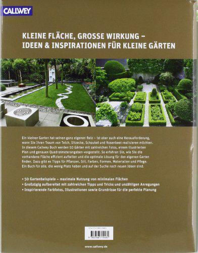 50 kleine Gärten von 20 bis 150 qm: Das Ideenbuch zuhause3.de