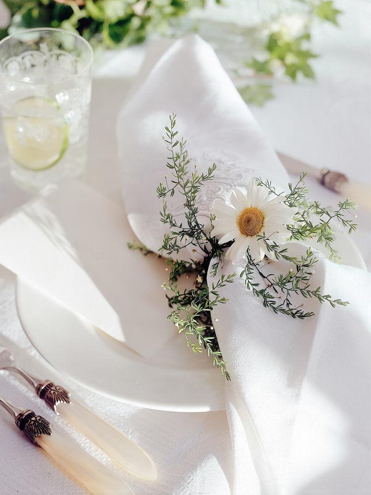 Romantische Hochzeitsdeko  Zuhausewohnen