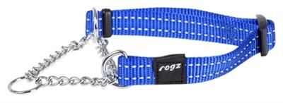Rogz for dogs snake choker blauw