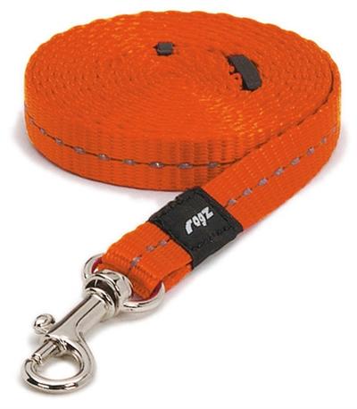 Rogz for dogs nitelife lijn oranje
