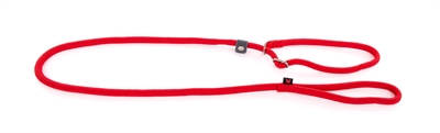 Retrieverlijn nylon rond rood