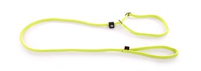 Retrieverlijn nylon rond groen