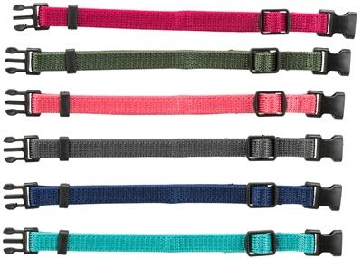 Trixie puppy halsbandset bruin / beige / grijs / roze / blauw / oranje