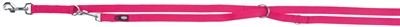 Trixie hondenriem premium verstelbaar nylon fuchsia
